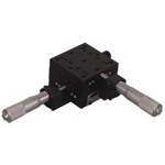 Manual XY Axis, Crossed Roller Guide Stages: 65×65-AKSM25-65CC