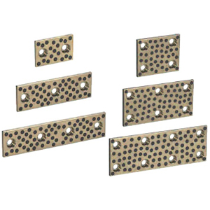 Oil-free Slide Plates -High Surface Pressure Copper Alloy 10mm Type-