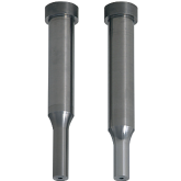 PRECISION Carbide Shoulder Punches with Air Holes Normal, Lapping