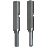 PRECISION Carbide Punches with Key Grooves, with Air Holes Normal, Lapping