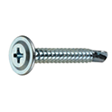 Self-drilling screw wafer cross recessed drill screw wafer type [250-700 Pieces Per Package]