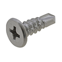 Stainless Steel Super Low Head Drill Screw [4-6 Pieces Per Package]