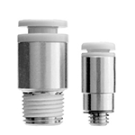 Hex Socket Head Male Connector, Stainless Steel One-Touch Fitting, KG Series.