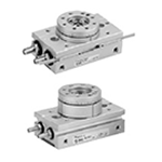 Rotary Table, Rack And Pinion Type, MSQ Series