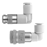 S Coupler, Socket (S) Elbow Type with One-Touch Fitting, KK Series