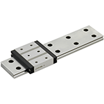 Miniature Linear Guide (Dowel Holes and Wide Rail)